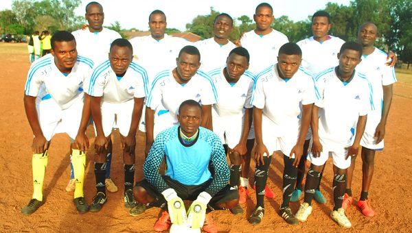 A football team in TCNN